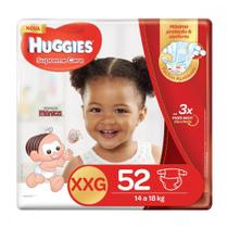 Fralda Huggies XXG Supreme Care Hiper 52 Unidades -