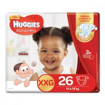 Fralda Huggies XXG Supreme Care Mega 26 Unidades -