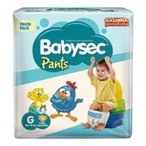 Fralda Infantil Babysec Pants Tamanho G 16 un -