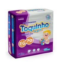 Fralda Infantil Descartável Confort Sec EG Com 70 Unidades - Diguinho