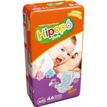 Fralda Infantil Descartável  Hipopo Economico Baby Xg 44 Un -