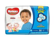 Fralda Infantil Huggies Com 32 Mega Xxg -