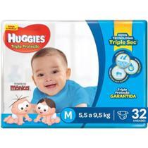 Fralda Infantil Huggies Turma da Mônica Econômica M C/32 -