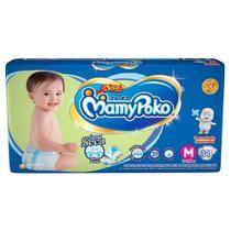 Fralda infantil mamypoko com 34 m fita azul -