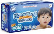 Fralda infantil Nana Nenê Premium Toque Macio XXG-56 unidades -