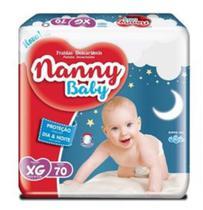 Fralda infantil Nanny baby Pacotão (P M G XG) -