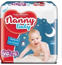 Fralda infantil nanny baby xg c/70 -