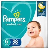 Fralda Infantil Pampers Confort Mega G Pc -