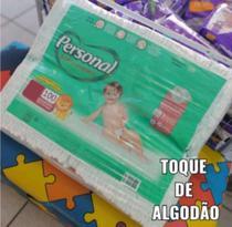 Fralda Infantil Personal Pacotão Econômico c/100 unidades (P) -