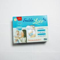 Fralda Luxo Estampada 5 UN Tecido Duplo - Minasrey -