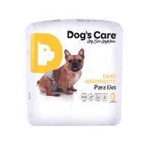Fralda macho tam gg - pacote c/ 12 unidades - dogs care -