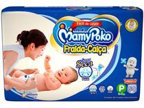 Fralda MamyPoko Calça Tam. P - 3 a 8kg 50 Unidades