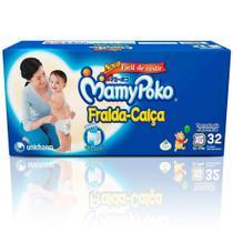 Fralda Mamypoko Mega Xg 32 Unidades -