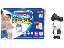 Fralda MamyPoko Super Calça Tam. M 6 a 10kg - 76 Unidades + Boneco Conto de Fadas Poko-Chan