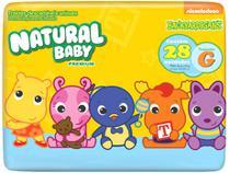 Fralda Natural Baby Premium Backyardigans Tam. G - 10 a 13kg 28 Unidades