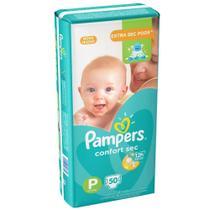 Fralda Pampers Confort Sec P 50 unidades -