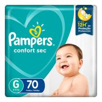 Fralda Pampers Confort Sec Pacote Giga Tamanho G -