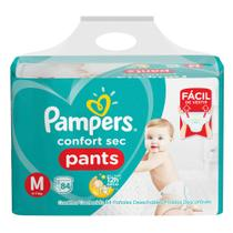 Fralda Pampers Confort Sec Pants Bag M 84 Unidades