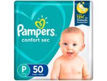 Fralda Pampers Confort Sec Tam. P  - 5 a 8kg 50 Unidades -