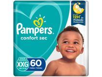 Fralda Pampers Confort Sec Tam. XXG +14kg - 60 Unidades