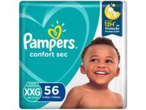 Fralda Pampers Confort Sec Tam. XXG - + de 14kg 56 Unidades -