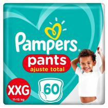 Fralda Pampers Pants Ajuste Total Top Tamanho XXG 60 Unidades -