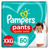 Fralda Pampers Pants Ajuste Total XXG 60 unidades -