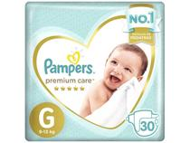 Fralda Pampers Premium Care G - 30 Unidades