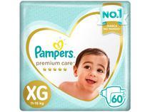 Fralda Pampers Premium Care XG 11 a 15kg - 60 Unidades