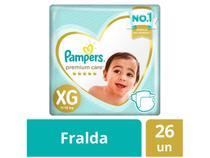Fralda Pampers Premium Care XG - 26 Unidades