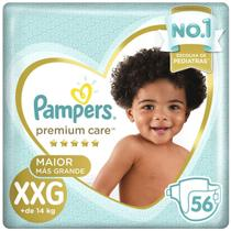 Fralda Pampers Premium Care XXG