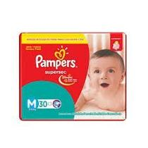 Fralda Pampers SuperSec - M- com 30 unidades - Procter  gamble do brasil s.