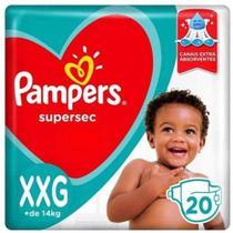 fralda pampers supersec xxg c/20un -