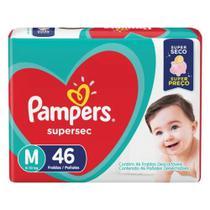 Fralda Pampers tam M com 46 unid -