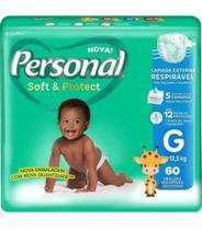 Fralda Personal Baby Soft e Protect Hiper -
