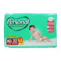Fralda Personal Baby Soft & Protect Hiper XG 52 Unidades -