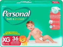 Fralda Personal Baby Soft & Protect Mega XG 36 Unidades -