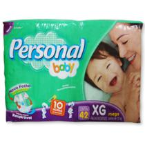 Fralda personal baby tamanho extra grande - 42 unidades - Santher -