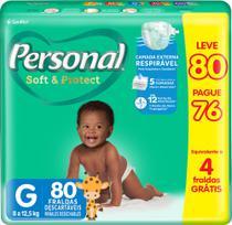 Fralda personal soft & protect hiper  lv80 pg76 -