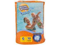 Fralda Pom Pom Tchibum Calça Tam. G - +12kg 10 Unidades