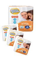 Fralda Pompom/ Fisher- price. 4 pacotes (80 fraldas)- Tamanho XG- nova tecnologia derma protek -