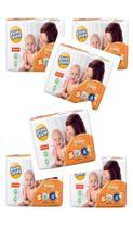Fralda Pompom/ Fisher-price. 6 pacotes (180 fraldas)- Tamanho P- nova tecnologia derma protek -