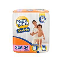 Fralda Pompom Shortinho Jumbo Xxg 24 Und - Pom Pom