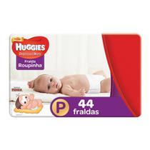 Fralda Roupinha Huggies Supreme Care Tamanho P Pacote Mega 44 Fraldas Descartáveis - Turma Mônica/Huggies