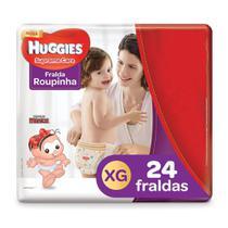 Fralda Roupinha Huggies Supreme Care Tamanho XG Pacote Mega 24 Fraldas Descartáveis - Turma Mônica/Huggies