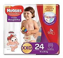 Fralda roupinha - Huggies Supreme Care - Tamanho XXG - 24 fraldas -
