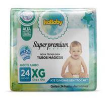 Fralda Super Premium Jumbo XG 8 Pacotes Com 24 Unidades Isababy -