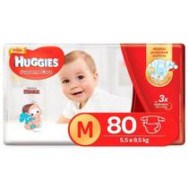 Fralda Supreme Care M - Huggies - 80 Unidades -