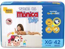 Fralda Turma da Mônica Baby Tam. XG - 12 a 15kg 42 Unidades -