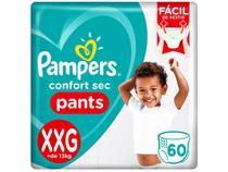 Fraldas Calça Pampers Pants Confort Sec Tam. XXG - 60 Unidades